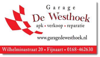 Garage Westhoek Fijnaart Logo