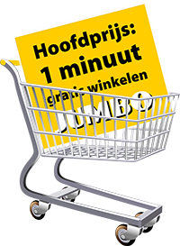 gratis 1 minuut winkelen